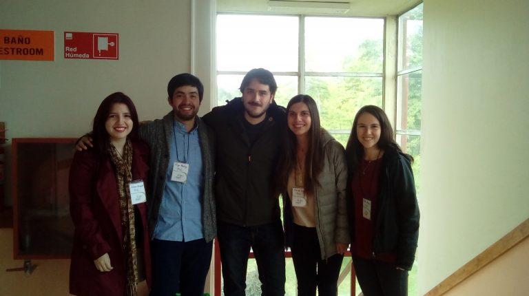 Profesionales y estudiantes que participaron del Programa de Apoyo a la Inserción Universitaria, PAI UC.