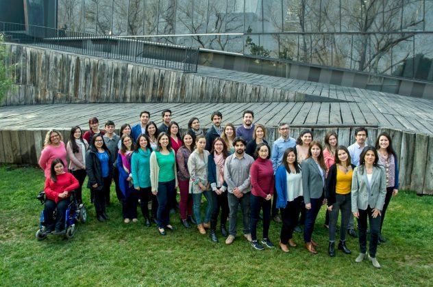 Foto grupal del equipo de la Dirección de Inclusión año 2018