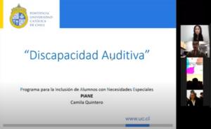 Presentación Webinar Discapacidad Auditiva