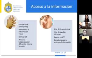 Ejemplo de vías de accceso a la información