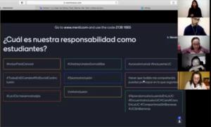 Actividad grupal con propuestas para hashtags para usar en próximas acciones inclusivas