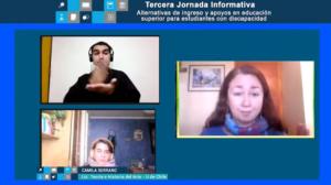 Panel de conversación, bloque 1, liderado por Camila Serrano